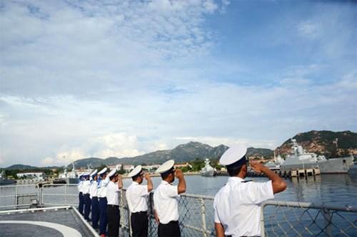 Tàu Hải quân Việt Nam đi Singapore dự nhiều hoạt động quốc tế - Ảnh 2.