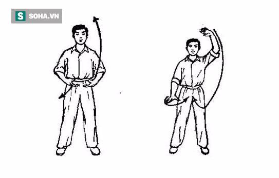Vẩy tay cân bằng lá lách, dạ dày: Thuật dưỡng sinh của tỷ phú 90 tuổi vẫn sống khoẻ  - Ảnh 4.
