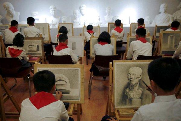 Hình ảnh hiếm về tuổi thơ của trẻ em Triều Tiên - Ảnh 9.