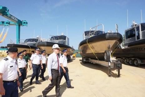 Mỹ bàn giao cho Cảnh sát biển Việt Nam 6 tàu tuần tra - Ảnh 2.