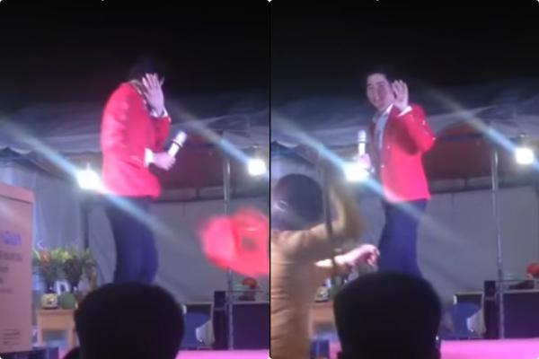 Cách đây một tháng, Thanh Duy cũng bị bầu show mắng chửi thậm tệ trước mặt khán giả như Lưu Chí Vỹ - Ảnh 1.