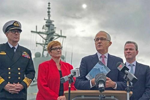 Siêu dự án đóng tàu hải quân của Australia - Ảnh 1.