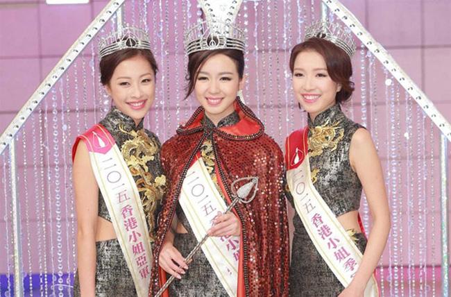 Dung nhan của Á hậu 9x khiến tỷ phú Hong Kong bỏ cả 3 con và người tình để chạy theo - Ảnh 1.