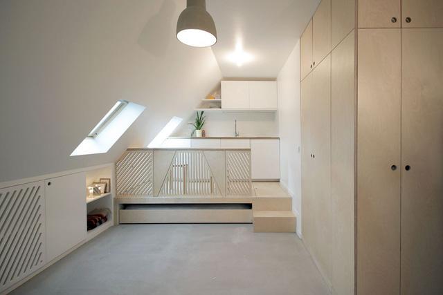 Thiết kế nội thất của căn nhà nhỏ 15m2 khiến ai cũng ao ước - Ảnh 1.