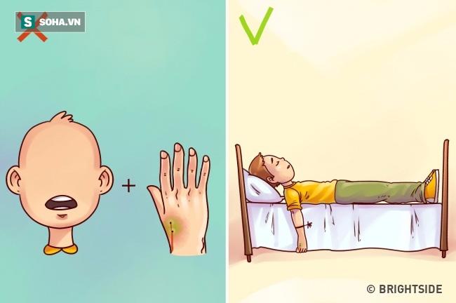 Hoại tử, suy gan vì 9 kiểu sơ cứu sai lầm rất dễ mắc phải - Ảnh 8.