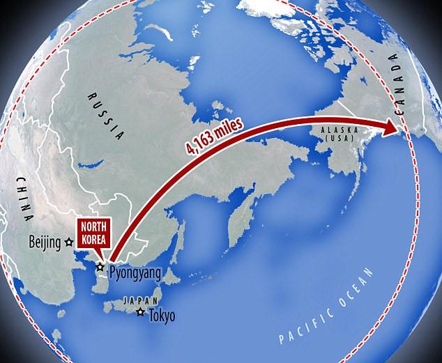 Bang Alaska tuyên bố không sợ tên lửa Triều Tiên - Ảnh 1.
