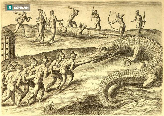 Tom Hai ngón - Con cá sấu khổng lồ, khát máu bậc nhất châu Mỹ - Ảnh 2.