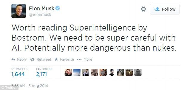 Elon Musk: Trí tuệ nhân tạo là Hiểm họa lớn nhất mà nền văn minh loài người phải đối diện - Ảnh 1.