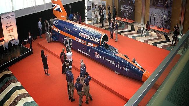 Bloodhound SSC - Siêu xe nhanh nhất thế giới, chạy hơn 30% vận tốc âm thanh - Ảnh 2.