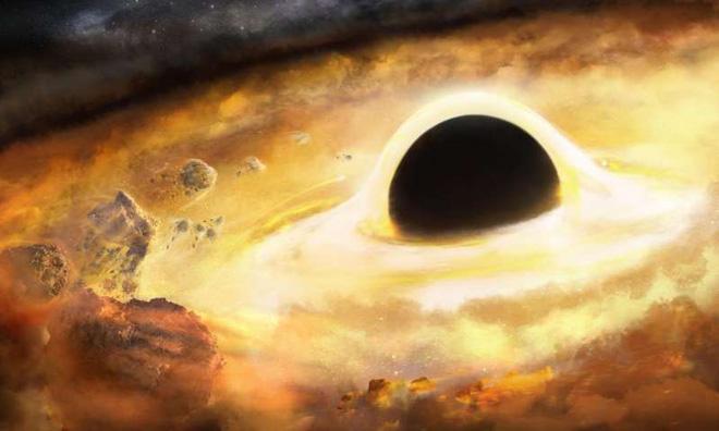 Các nhà khoa học vừa nghĩ ra cách cân khối lượng lỗ đen: dùng các nhánh xoắn ốc của thiên hà - Ảnh 1.