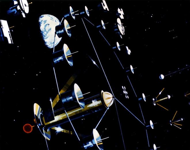 NASA đã từng có ý tưởng xây dựng thành phố ngoài vũ trụ như trong bộ phim Interstellar - Ảnh 1.