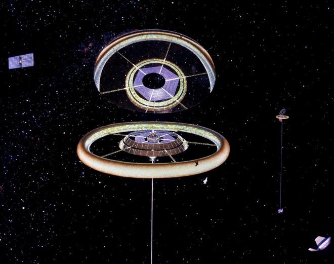 NASA đã từng có ý tưởng xây dựng thành phố ngoài vũ trụ như trong bộ phim Interstellar - Ảnh 2.