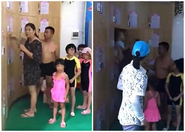 Trung Quốc: Đi bơi, cặp vợ chồng gửi luôn con nhỏ trong tủ đựng đồ - Ảnh 2.