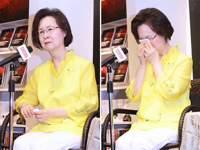 Nữ văn sĩ Quỳnh Dao bật khóc nức nở khi bị con riêng của chồng hắt hủi - Ảnh 2.