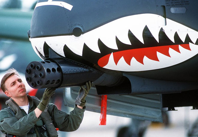 Vũ khí thần chết không thể gọi tên của Mỹ khiến kẻ địch run sợ - Ảnh 1.