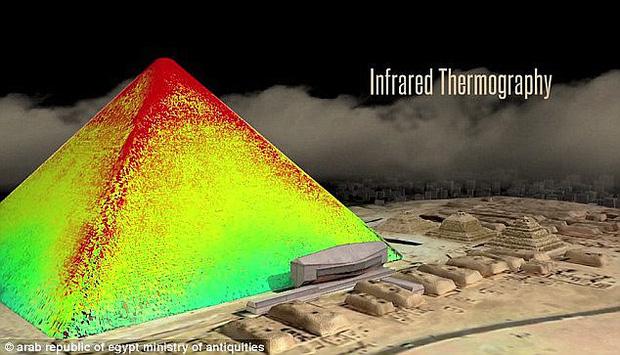 Bằng chứng về mật thất bên trong kỳ quan bí hiểm nhất thế giới - Đại kim tự tháp Giza - Ảnh 2.
