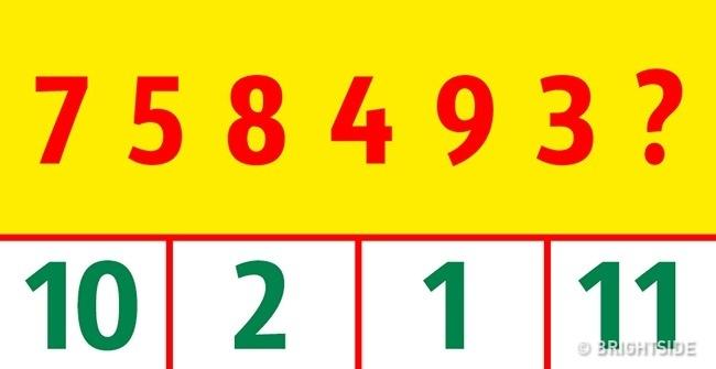 Chỉ thiên tài mới có thể giải được 7 cửa ải hóc búa này trong 30 giây! - Ảnh 6.