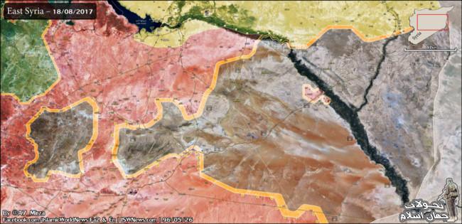 Mỹ lại bất ngờ không kích quân đội Syria ở Raqqa - Ảnh 1.