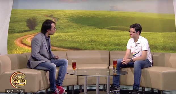 Nhật Minh Olympia lần đầu hát trên truyền hình, chia sẻ không thích cái tên cậu bé Google - Ảnh 1.