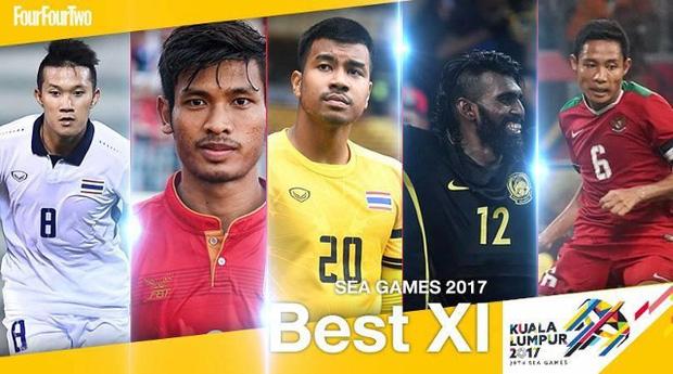 Đội hình tiêu biểu SEA Games 29 không có cầu thủ U22 Việt Nam - Ảnh 1.