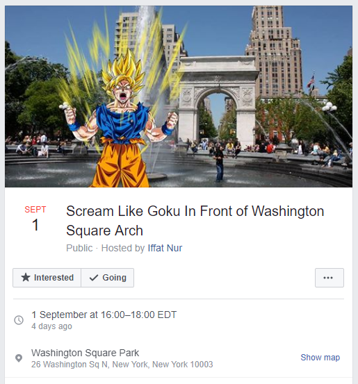 Mỹ: Hàng chục người tham dự sự kiện hét to như Goku kéo dài 1 giờ - Ảnh 1.