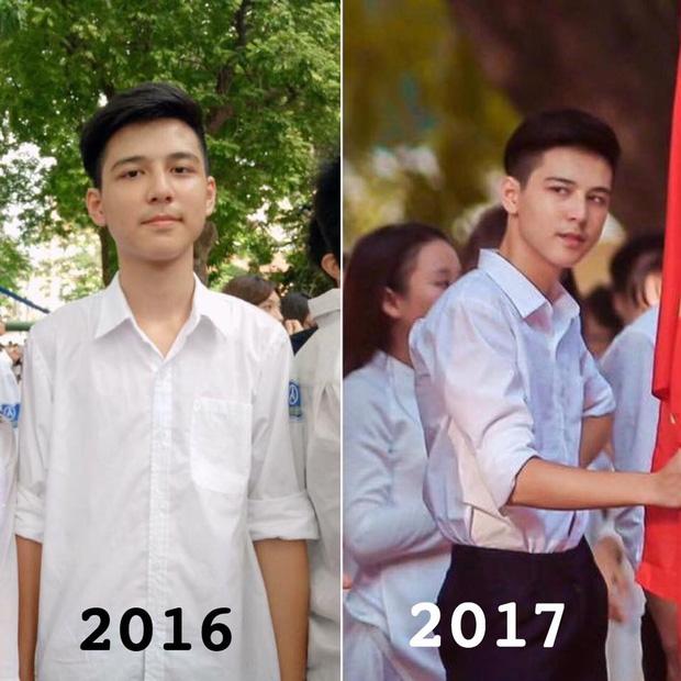 Hotboy cầm cờ trường Phan Đình Phùng lộ ảnh thời cấp 2, xuất hiện loạt tài khoản mạo danh trên Facebook - Ảnh 1.