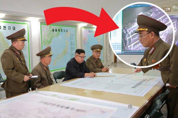 Triều Tiên dùng ảnh vệ tinh từ 6 năm trước cho kế hoạch tấn công Guam - Ảnh 1.
