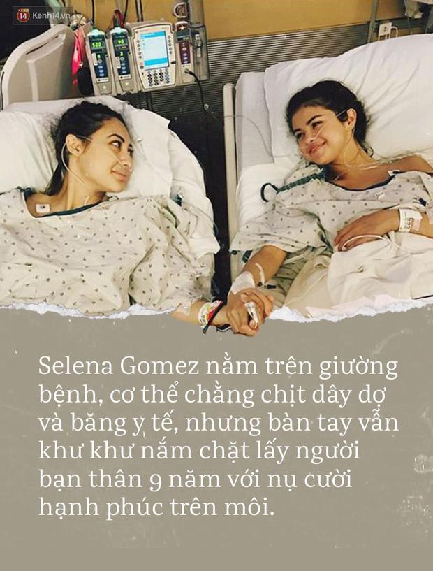 Đằng sau vết sẹo của Selena Gomez: Khi vinh hoa cả trăm ngàn bạn, lúc hoạn nạn tri kỉ chỉ còn hai - Ảnh 1.