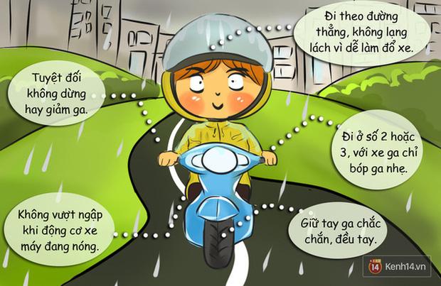 Nguyên tắc đi đường bạn buộc phải nhớ khi có gió giật mạnh ngày mưa bão - Ảnh 2.