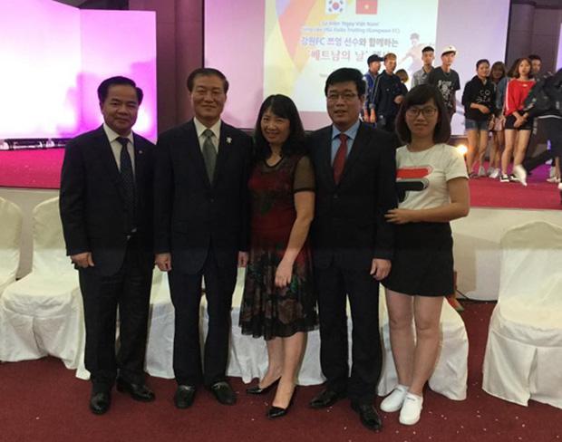 Lương Xuân Trường nhận niềm vui to lớn từ gia đình ngay trên đất Hàn Quốc - Ảnh 1.