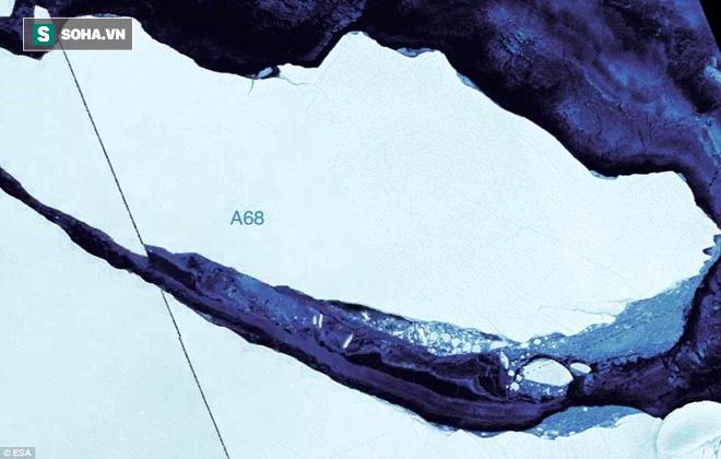 Thảm kịch tàu Titanic có lặp lại khi núi băng trôi 1000 tỷ tấn vừa tách khỏi Nam Cực? - Ảnh 1.