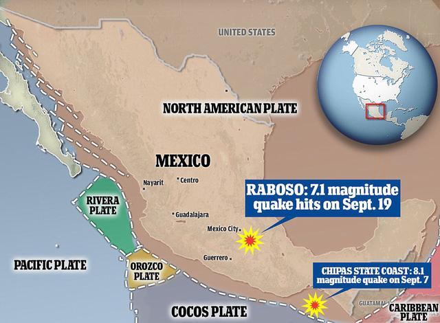 Động đất liên tục càn quét vùng tử địa Mexico: Khoa học giải mã nguyên nhân - Ảnh 2.