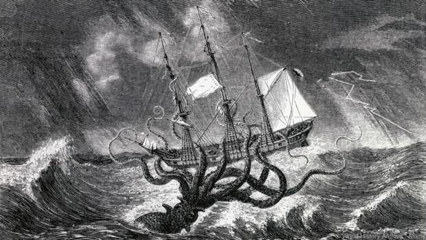 Câu chuyện về Kraken - con quái vật từ huyền thoại bước ra đời thực - Ảnh 1.