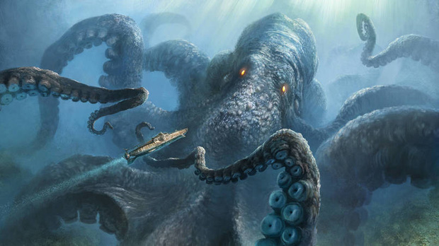 Câu chuyện về Kraken - con quái vật từ huyền thoại bước ra đời thực - Ảnh 2.