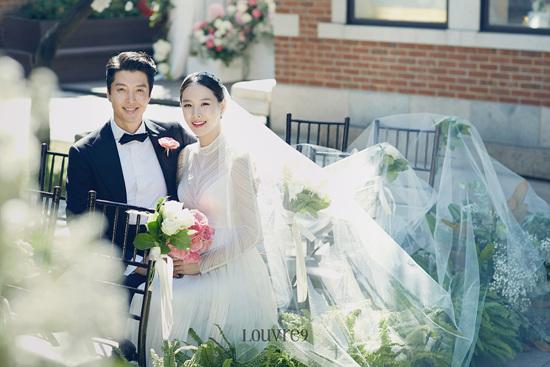 Những hình ảnh đẹp trong đám cưới bí mật của tài tử Lee Dong Gun - Ảnh 1.
