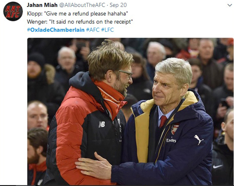 Chamberlain nặng vía dìm Liverpool. Wenger quả là thiên tài! - Ảnh 1.