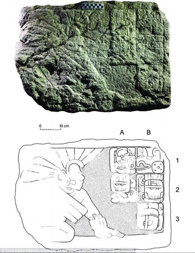 Phiến đá 1.400 năm tuổi tiết lộ một sự thật rợn người của người Maya - Ảnh 1.