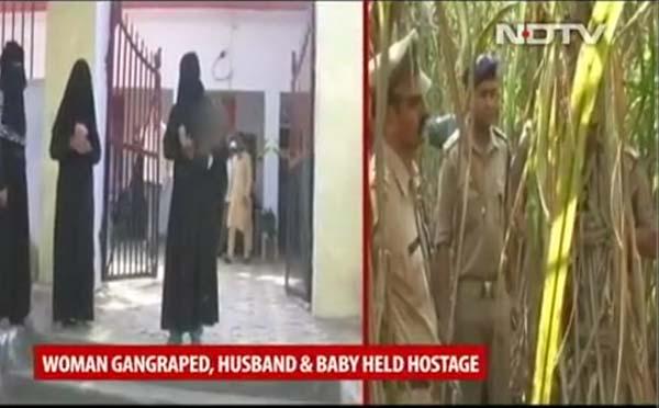 Một phụ nữ bị hiếp dâm tập thể trước mặt chồng và con gây chấn động - Ảnh 1.