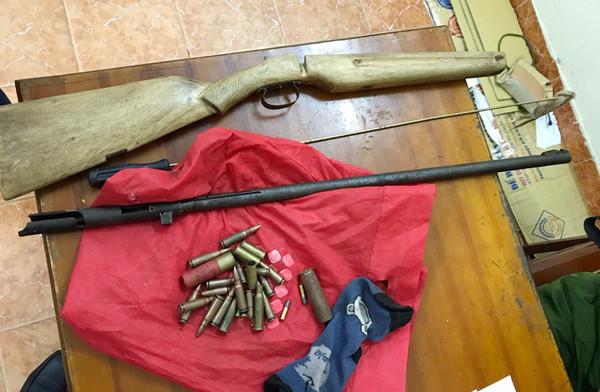 Cận cảnh máy sản xuất súng tự chế của nhóm cướp tài sản - Ảnh 7.