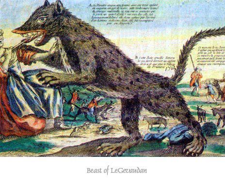 Truyền thuyết có thật về những con quái thú khát máu vùng Gévaudan - Ảnh 3.