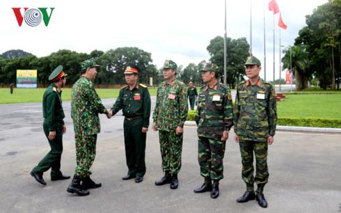 Chủ tịch nước Trần Đại Quang thăm, làm việc với Bộ Quốc phòng - Ảnh 1.