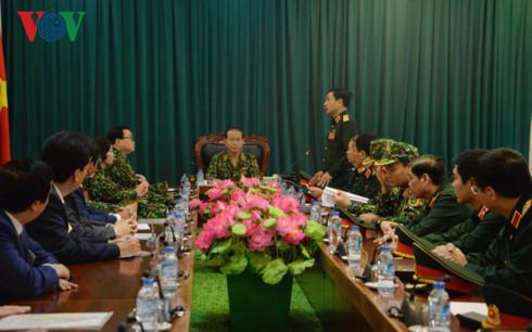 Chủ tịch nước Trần Đại Quang thăm, làm việc với Bộ Quốc phòng - Ảnh 2.