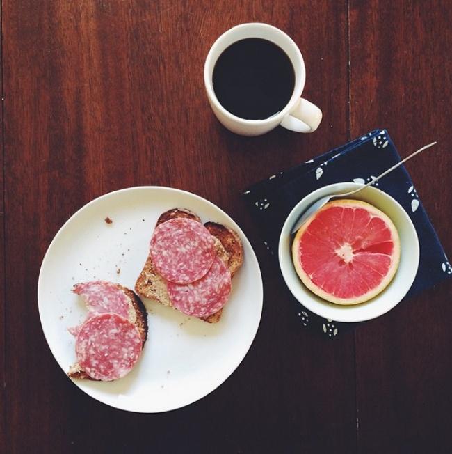 Thực đơn bữa sáng đủ chất