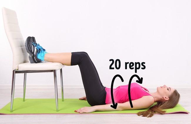 10 phút 5 bài tập mỗi sáng: Bụng phẳng lì không cần đến phòng tập, thuốc giảm cân - Ảnh 2.