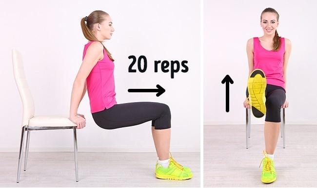 10 phút 5 bài tập mỗi sáng: Bụng phẳng lì không cần đến phòng tập, thuốc giảm cân - Ảnh 3.