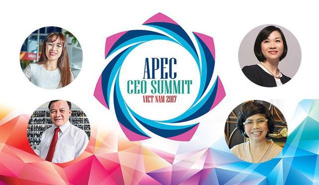 4 gương mặt Việt Nam đăng đàn tại APEC CEO Summit là những ai? - Ảnh 1.