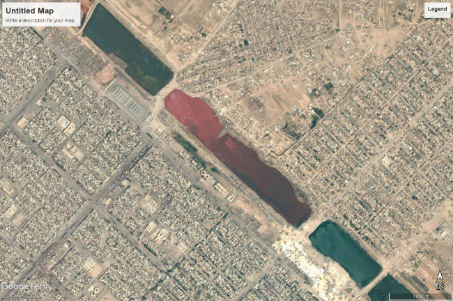 Những cảnh tượng bí ẩn vô tình lọt vào tầm ngắm của Google Earth - Ảnh 6.