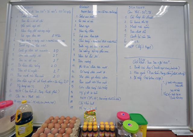 Khám phá bếp ăn phục vụ 3.000 phóng viên ở Trung tâm Báo chí APEC - Ảnh 1.