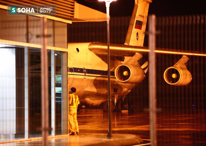 Ngựa thồ IL-76 của đoàn tiền trạm Tổng thống Nga đã đáp xuống Đà Nẵng - Ảnh 9.