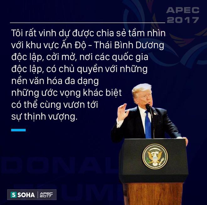 Toàn văn phát biểu của Tổng thống Mỹ Donald Trump tại APEC CEO Summit Việt Nam 2017 - Ảnh 1.